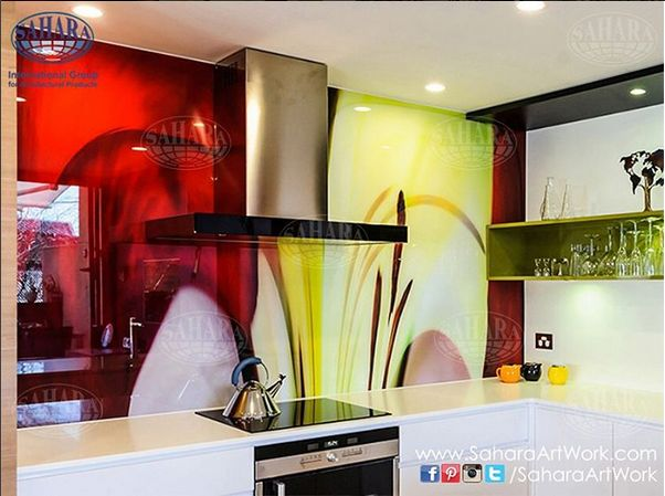 Add life to your kitchen by adding a refreshing digital printed ...