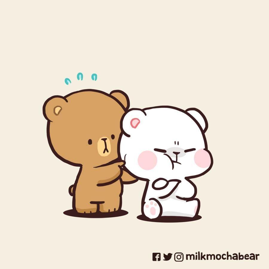Milk Mocha On Twitter Cute Bear Drawings Cute Cartoon Images Cute Cartoon Wallpapers
