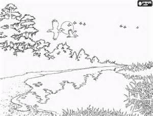 Spring Landscape Coloring Pages Yahoo Image Search Results Spring Landscape Coloring Pages Landscape