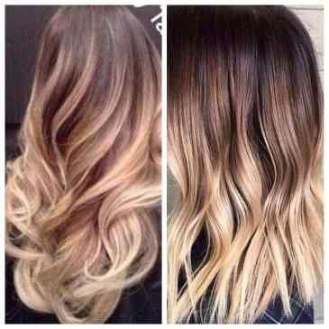Fall Hair Color For Brunettes Balayage Caramel Ombre Fresh Blonde Ombre Hair Col #fallhaircolorforbrunettes