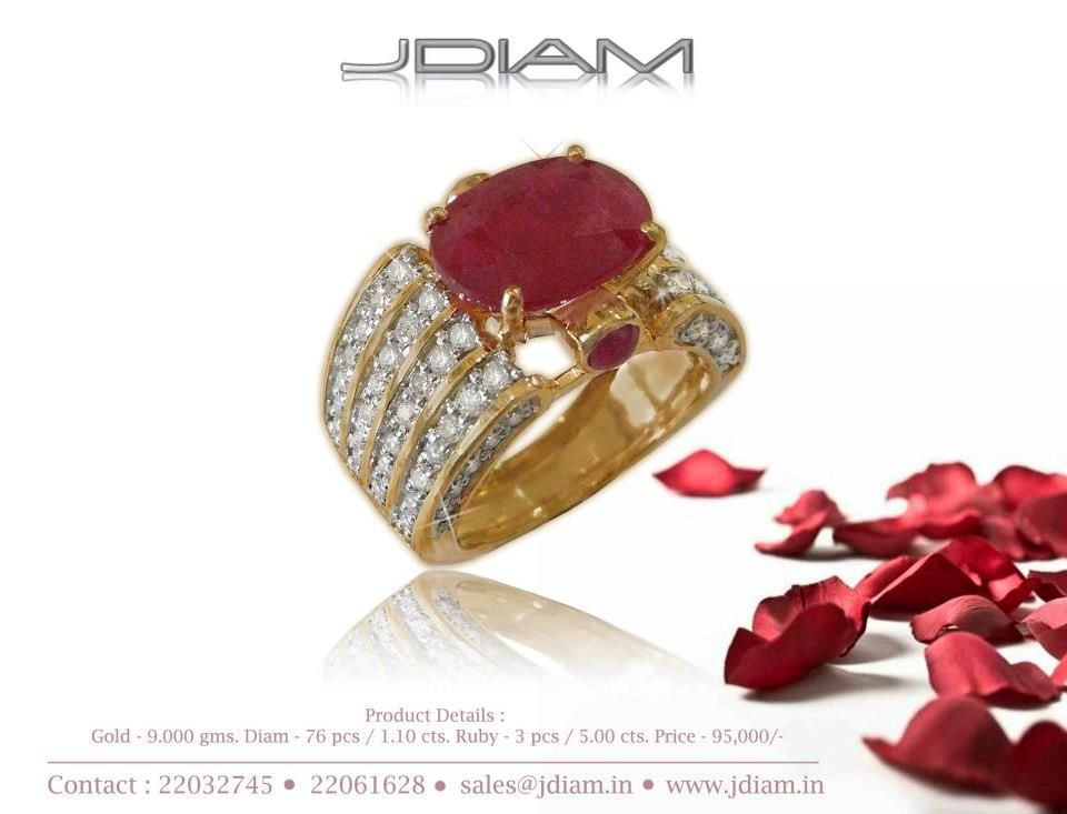 There are many things money can buy and this ring is certainly one of them.