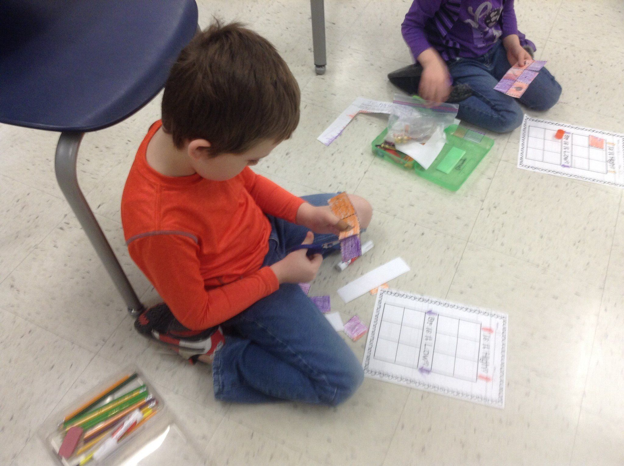 High And Low Worksheet Activity