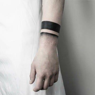 Grandiosos Tatuajes De Brazaletes Para Hombres Tatuajes Para - Tatuajes-de-pulsera-para-hombres
