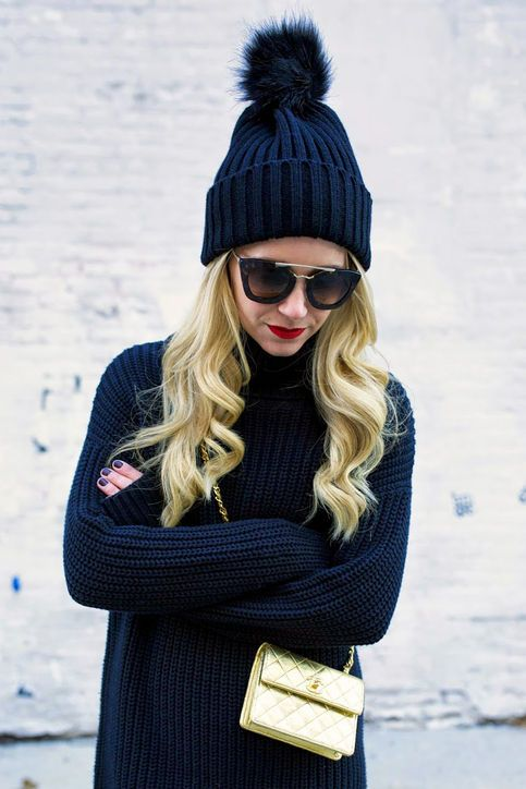 Agua Knit Set with Cap,