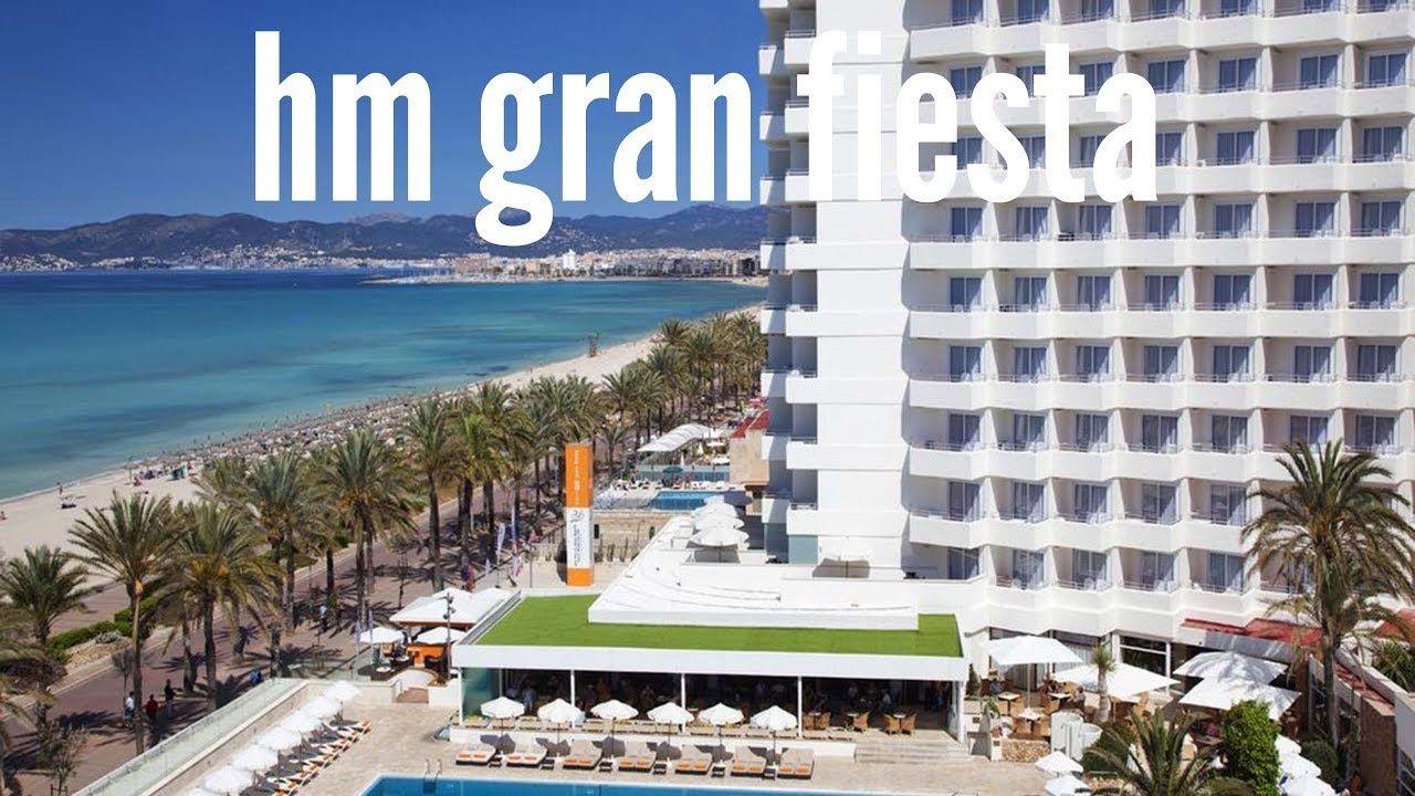 Hotel Hm Gran Fiesta En Playa De Palma Mallorca España Las Mejores Im Mallorca Fiesta En La Playa Hotel
