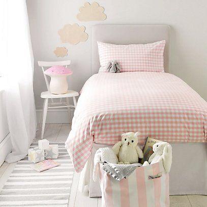Toddler Bed Duvet Cover, Pink And Gold Toddler Bedding Set