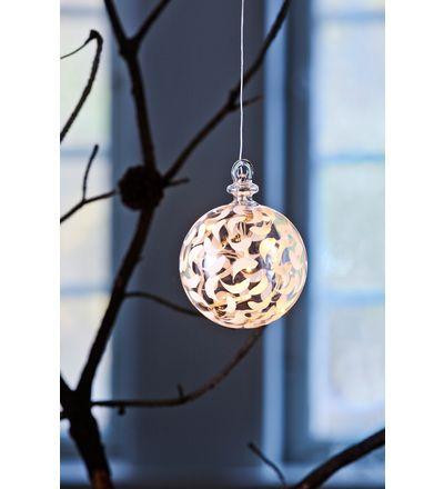 Sirius Drops 10,5 cm LED-lasipallo | Karkkainen.com verkkokauppa