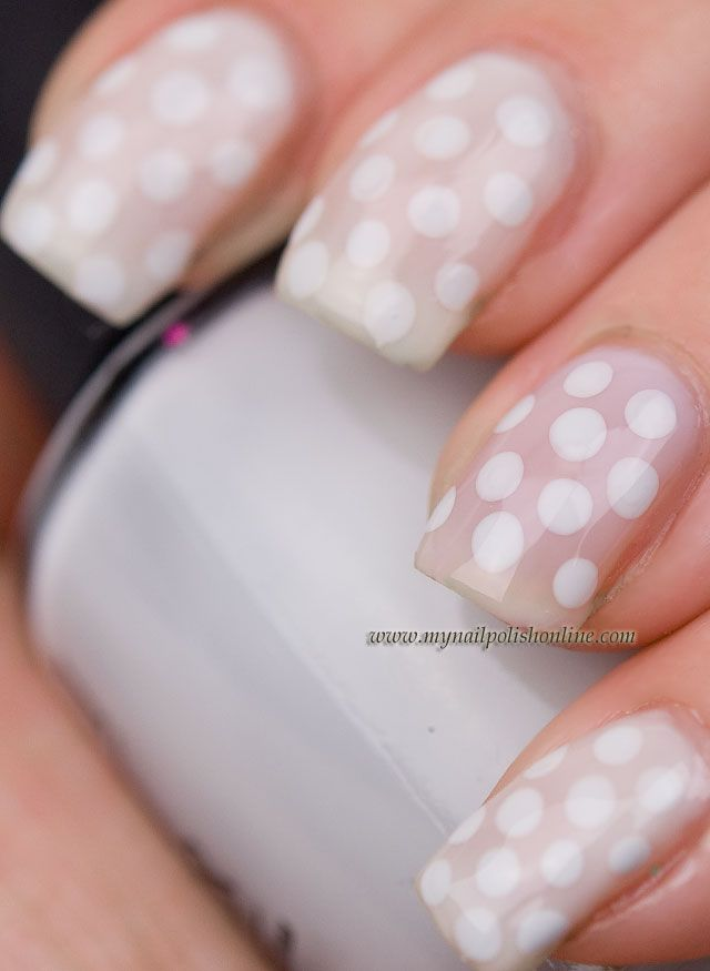 White dots on white http://www.mynailpolishonline.com/2013/01/nail ...