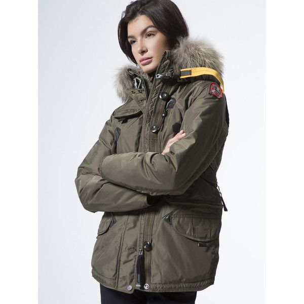 PARAJUMPERS Doris-W ($998) ❤ liked on Polyvore featuring outerwear, parajumpers,