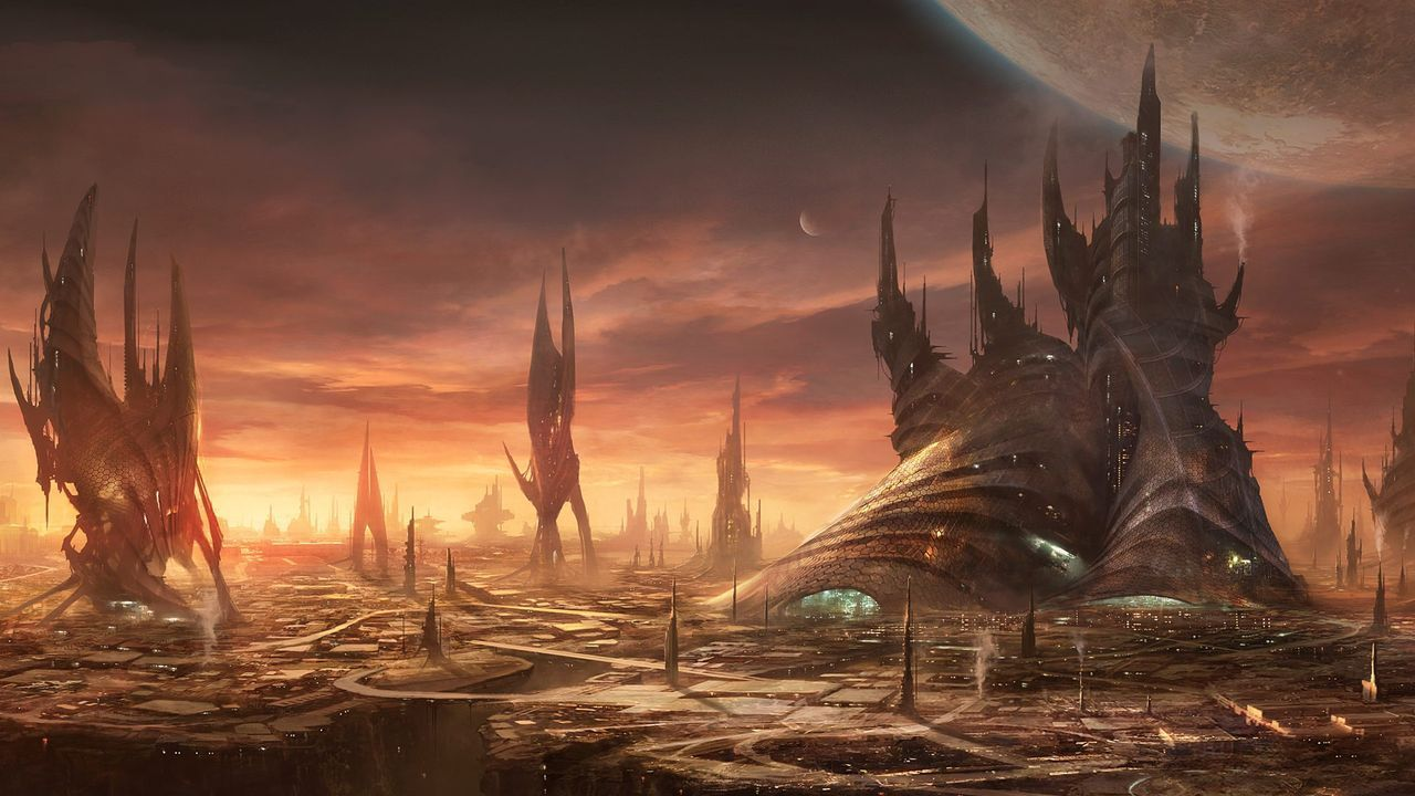Stellaris   Environment and landscape concept art in 2019   Hd cool