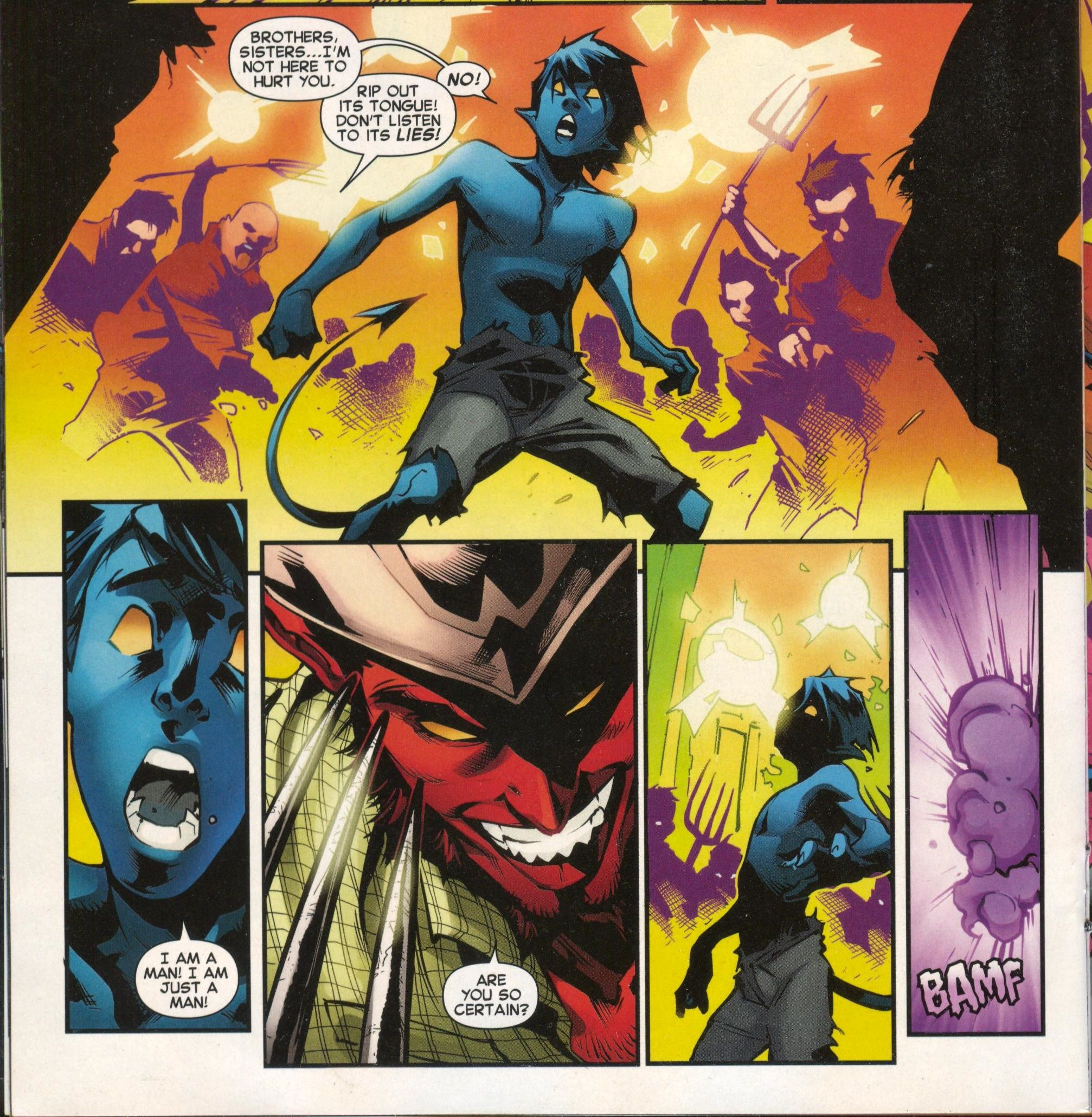 From Amazing X Men 13 Nov 2014 Nightcrawler Comics X Men