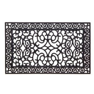 Front Door Mat Landscaping And Plants Outdoor Rubber