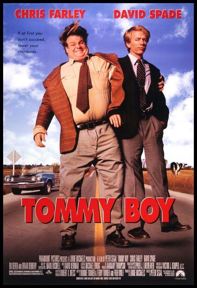 Details about Tommy Boy FRIDGE 6x8 Chris Farley
