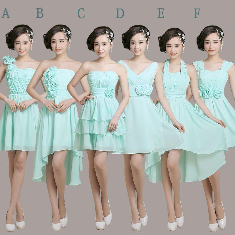 Modelos de vestidos cortos para damas de quinceaneras