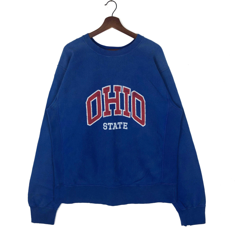 Vintage Ohio State University Sweatshirt Ohio State Reverse Weave Sweatshirt Crewneck Pullover Size Xl By Cl Sweatshirts University Sweatshirts Vintage Hoodies [ 3000 x 3000 Pixel ]
