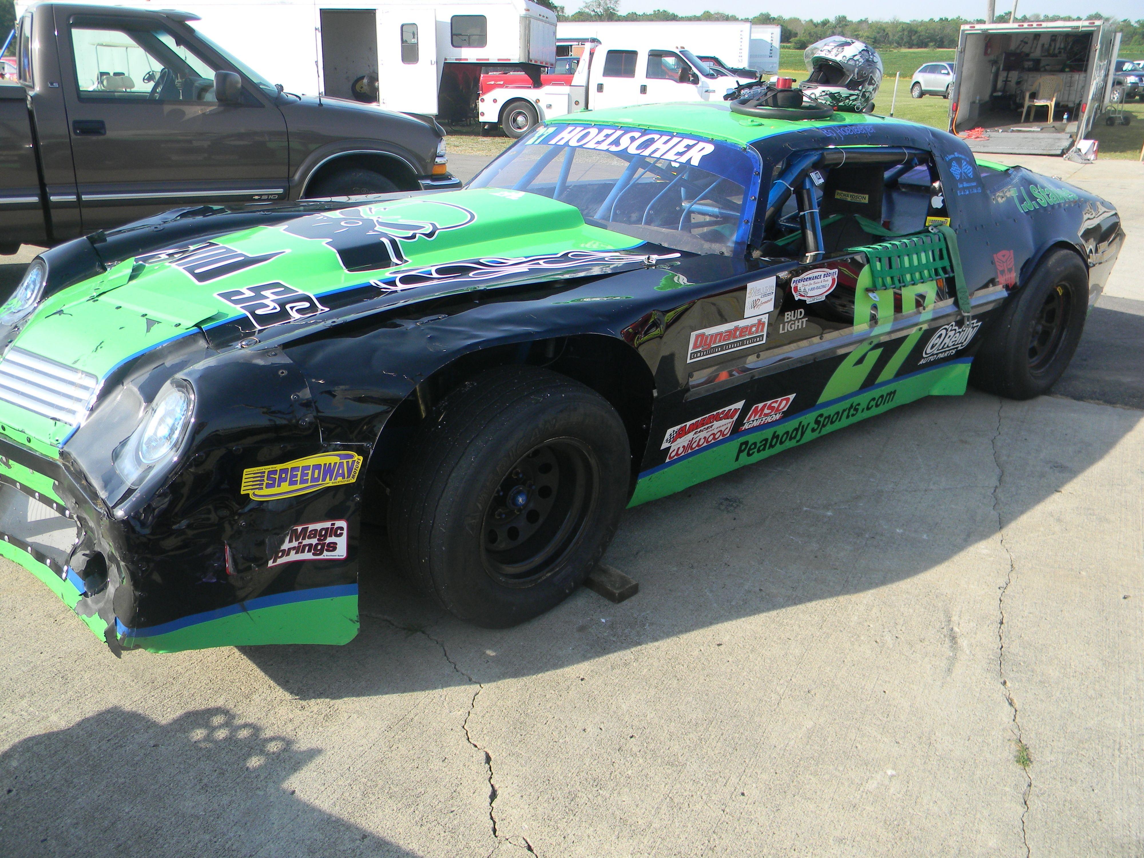Racing baby dirt racing street stock ohio race cars automobile nascar