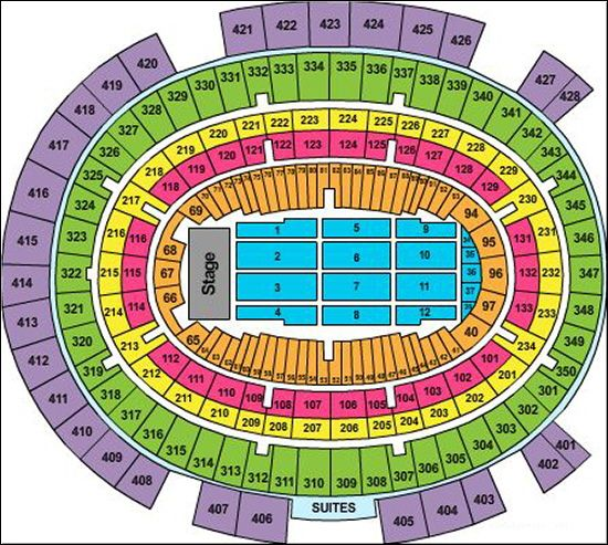 Madison Square Garden Seating Chart For Motley Crue Motley Crue Tour Tickets At Madison Square Garden In New Y Madison Square Garden Billy Joel Garden Seating