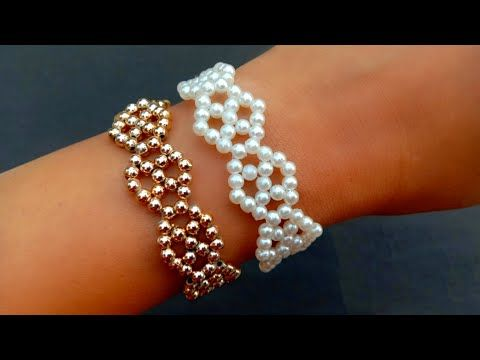 Photo of How To Make//Very Simple Pearl Bracelet//Bracelet Making At Home// Useful & Easy
