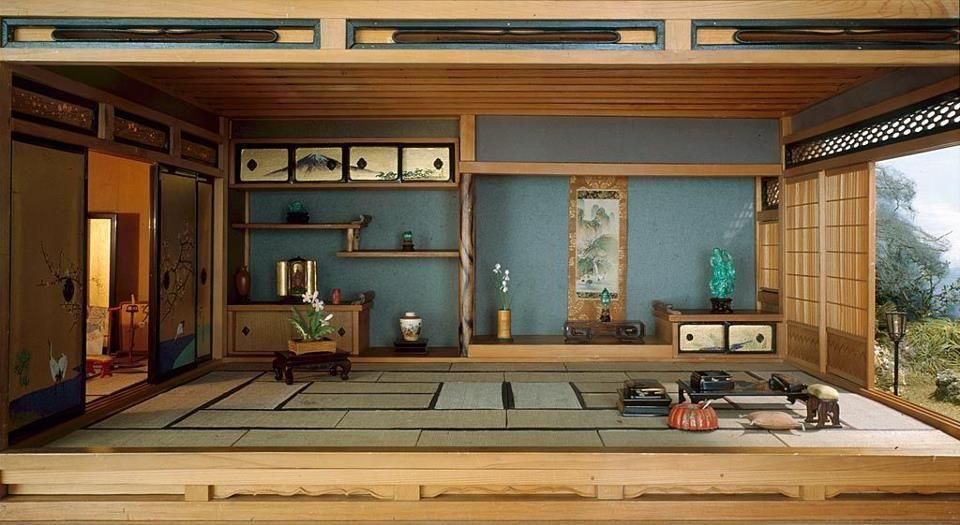 Nel giappone moderno vi sono migliaia di case di cemento for Architettura giapponese tradizionale