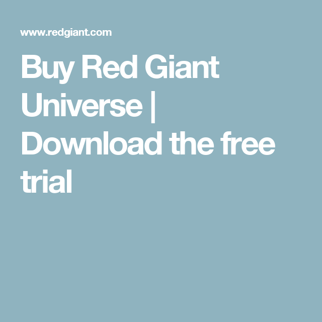 red giant universe free