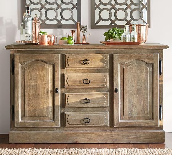 Linden Buffet | Pottery Barn | For the Home | Pinterest | Mueble tv ...