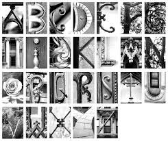 Letter Made Out Of Objects.Afbeeldingsresultaat Voor Alphabet Made Of Objects Art Stuff