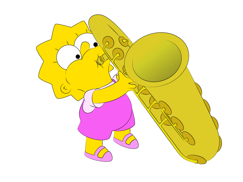 lisas sax by williamfreemandeviantartcom the simpsons
