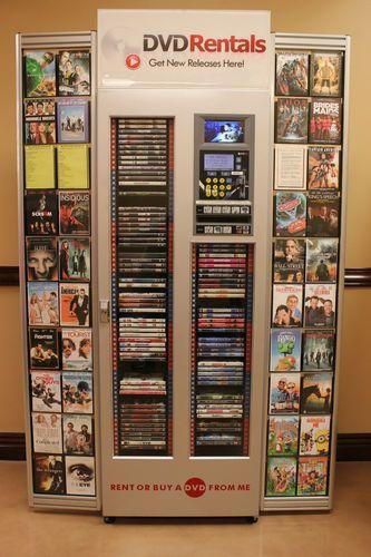 Dvdnow Dvd Rental Sales Vending Machine Kiosk Machine Rental