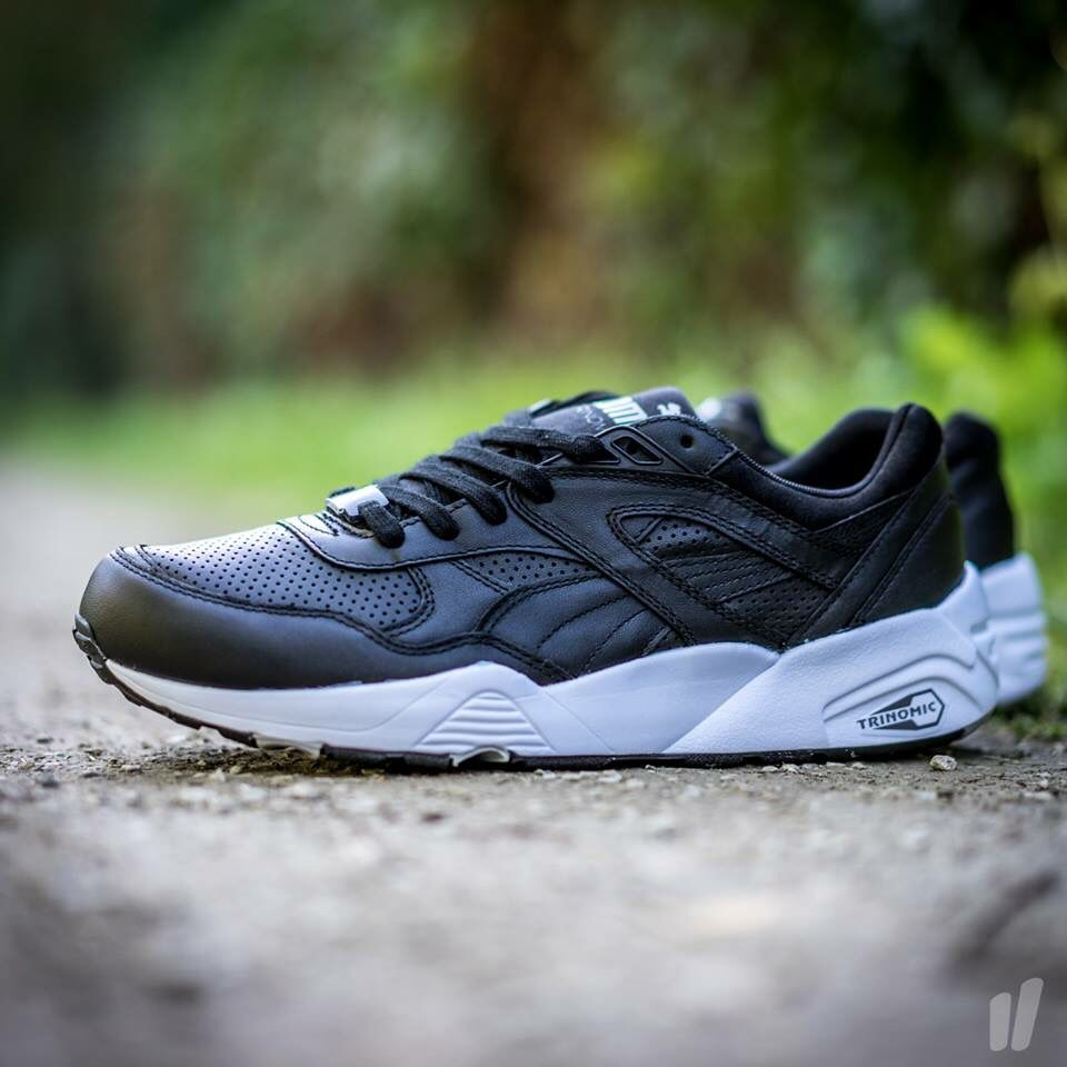 PUMA R698 Wilderness Black Trainers for MAN