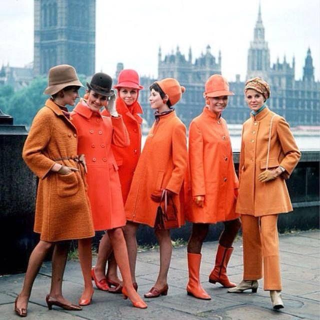 Orange and London are love.