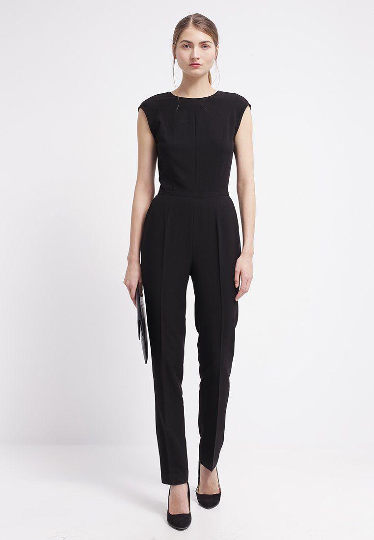 Eleganter #Jumpsuit in #Schwarz von #Kiomi. Der Jumpsuit ist eine ...