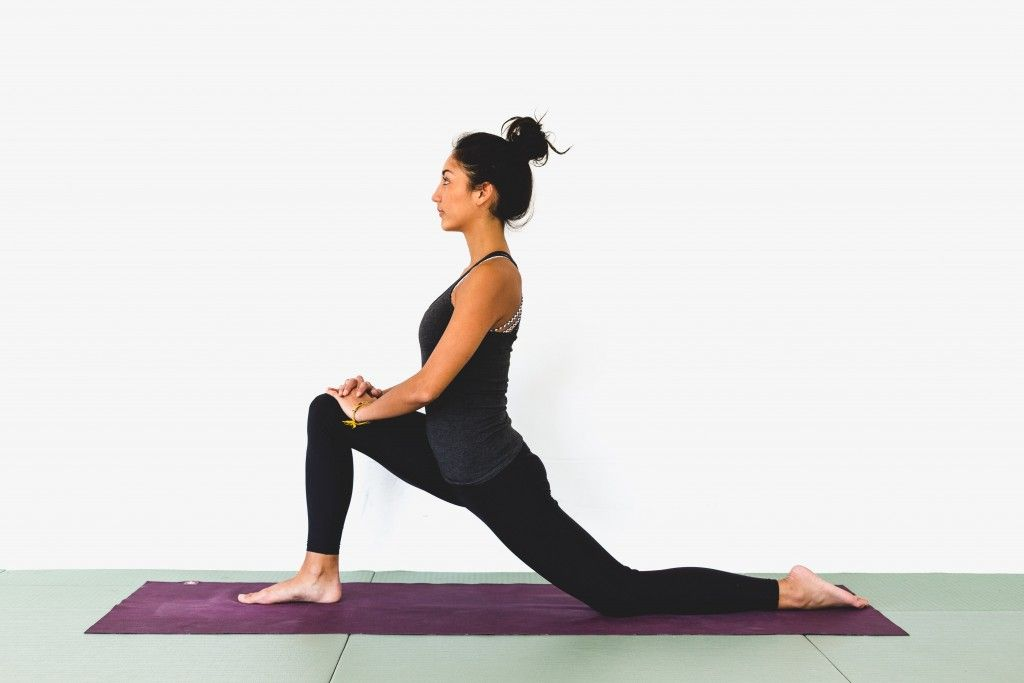 stretching the hip flexors makes your legs more flexible.