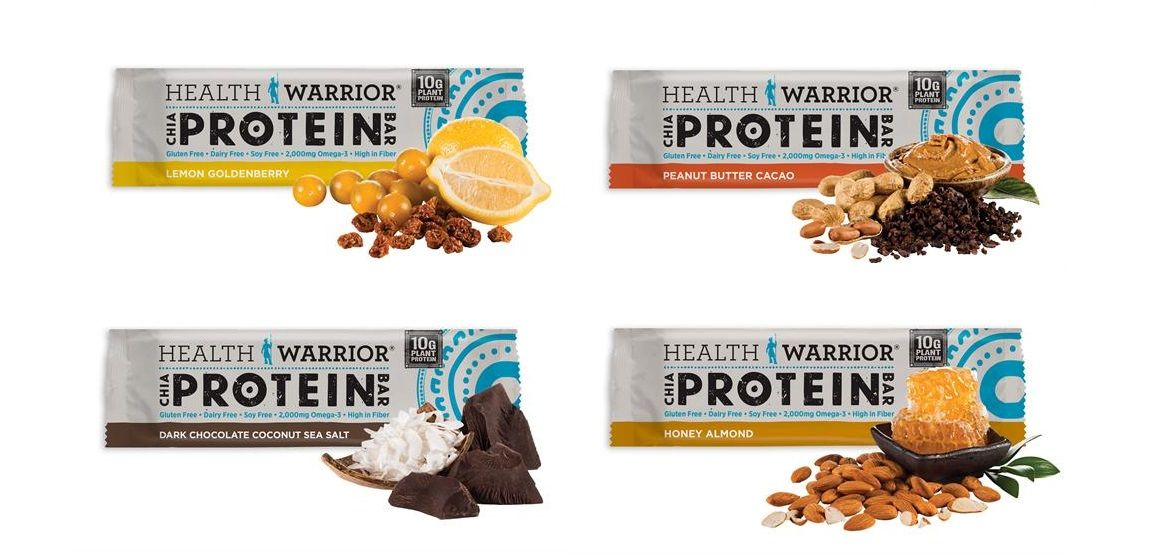 Health Warrior Chia Bar Jpg 1154 560 Protein Bars Food Packaging Chocolate Coconut