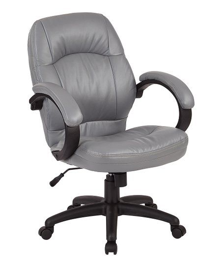 Avesix Charcoal Gray Managers Office Chair