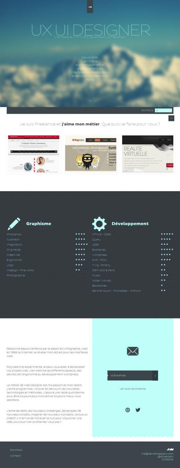 Web Designer David Massiani - Freelance UX UI Wordpress - Webdesign ...