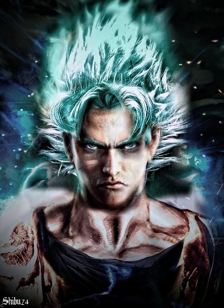 Goku Ssj Blue Portrait By Shibuz4 Dragon Ball Artwork Goku Dragon Ball Super