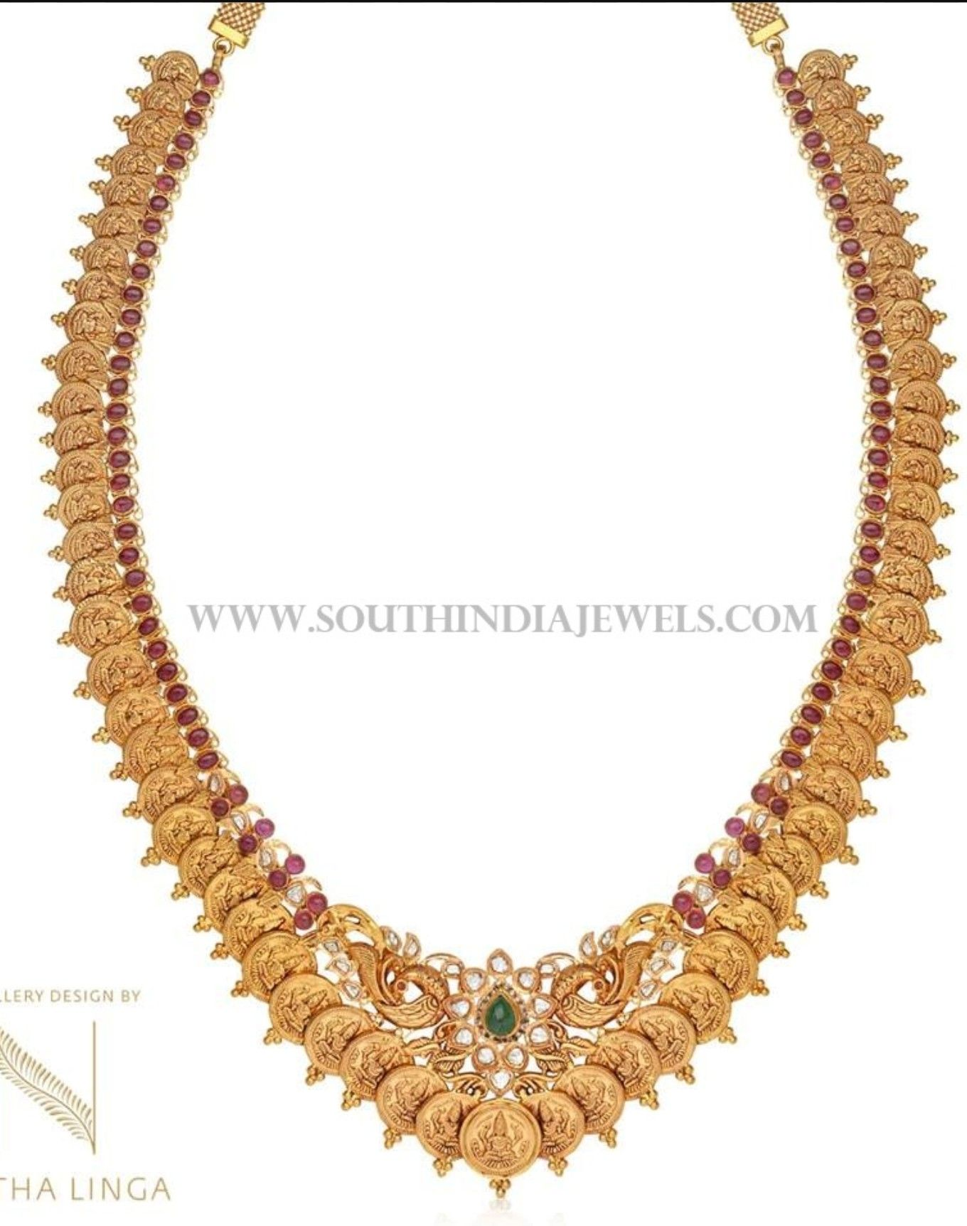 necklace indian gold pinterest pin jewellery sets