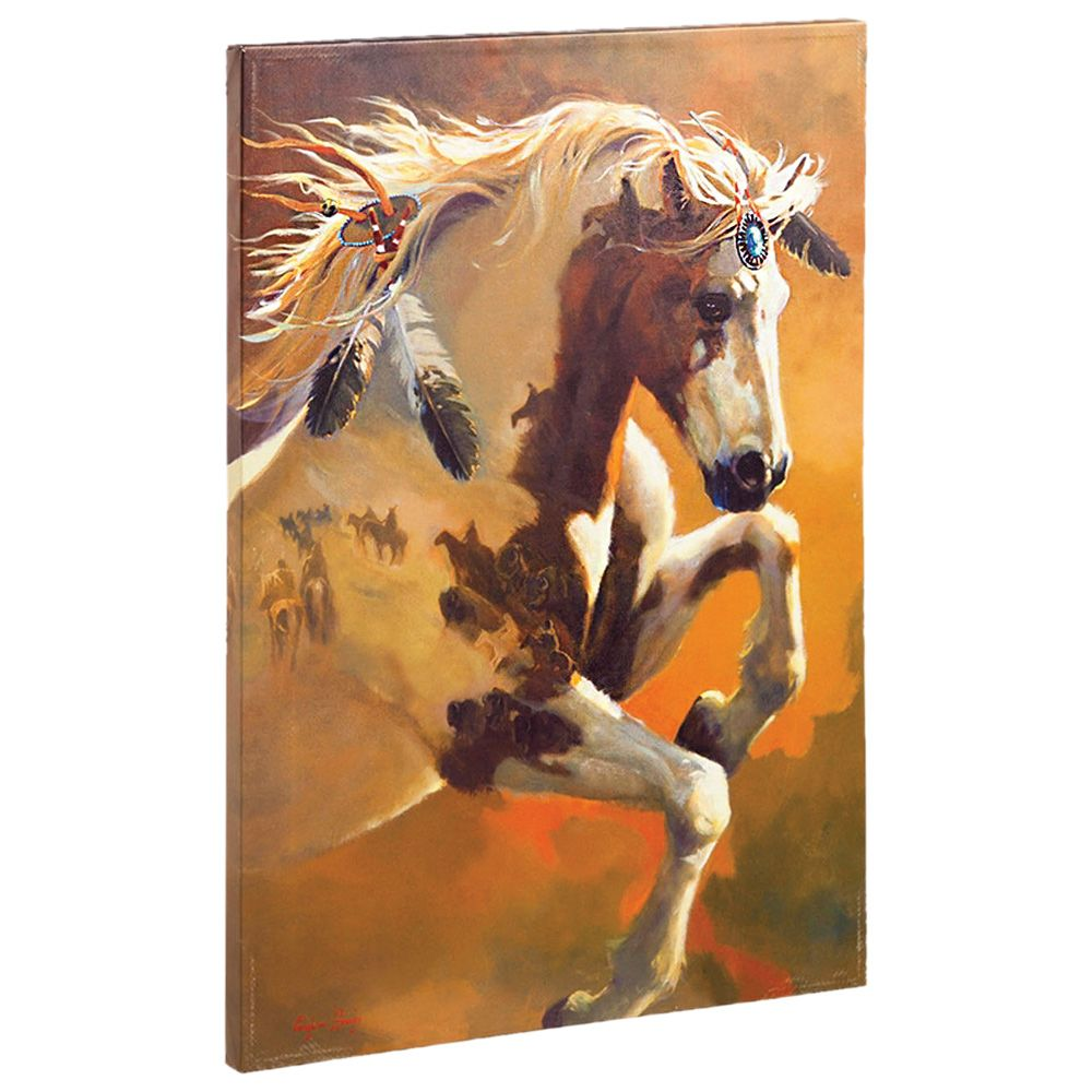 Free Spirit Horse Canvas Wall Art