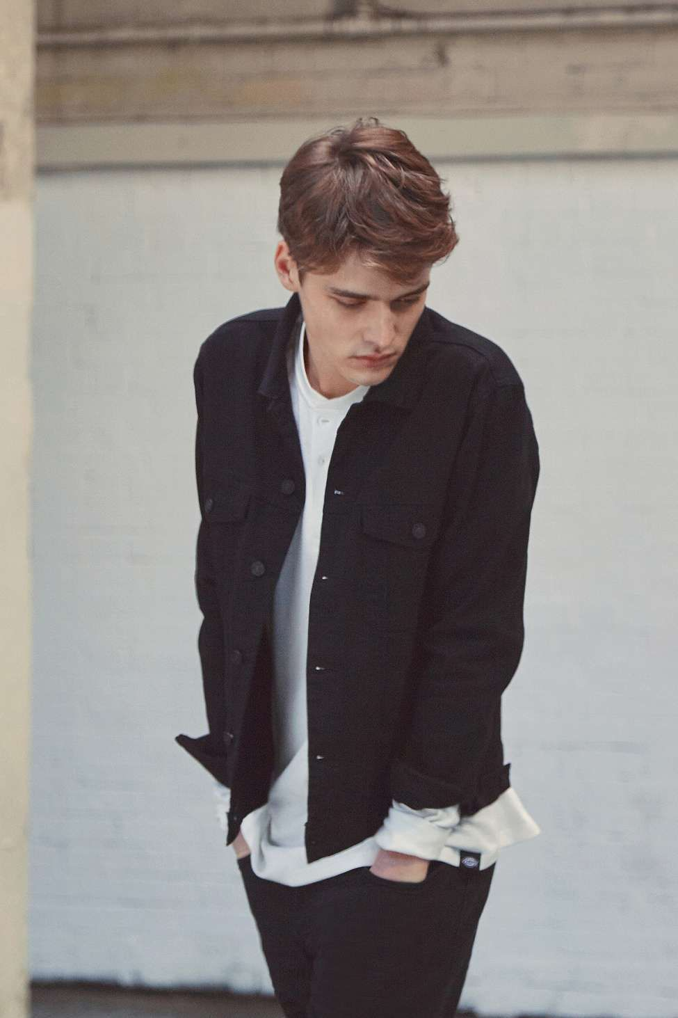 Loom Black Denim Jacket Black Denim Jacket Black Denim Jacket Outfit Smart Casual Style