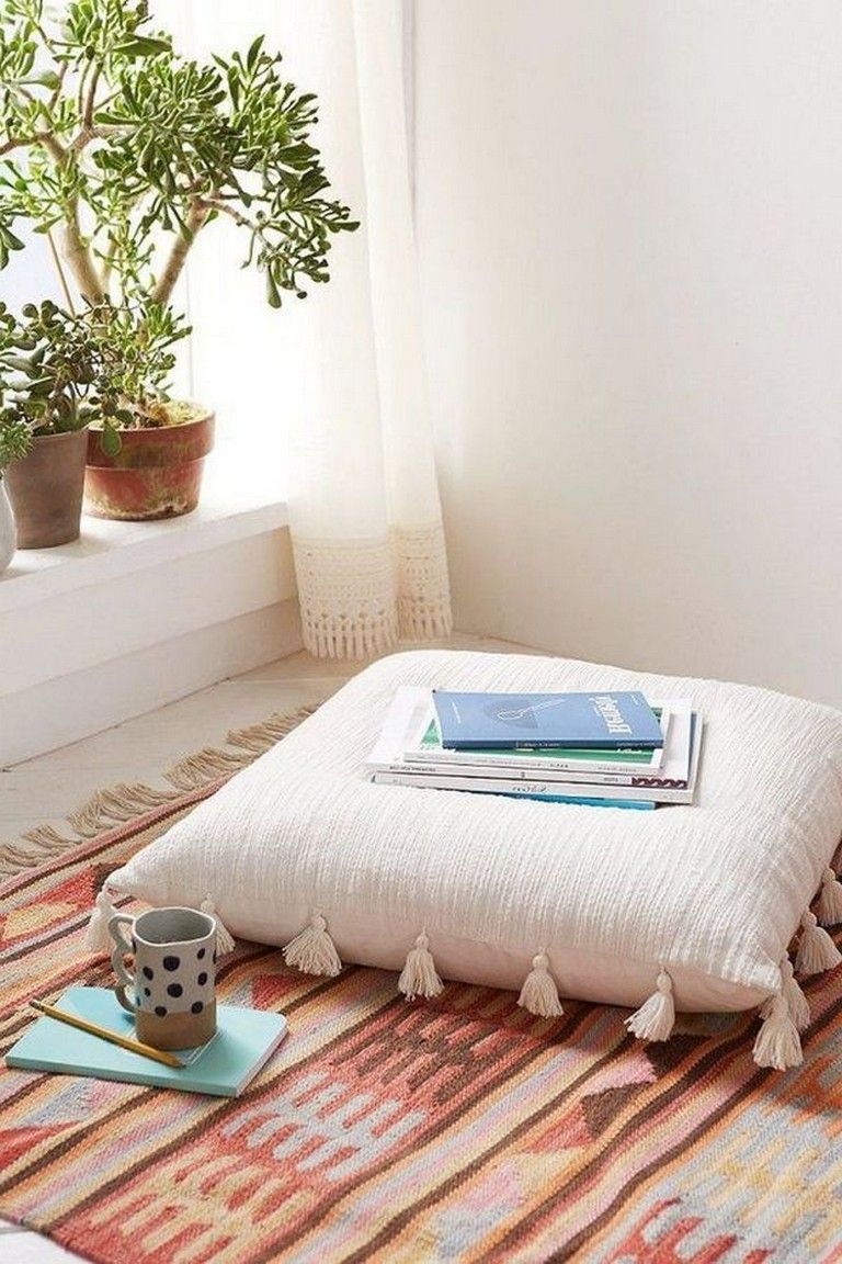 Beautiful And Comfy Diy Giant Floor Pillows In 2020 With Images