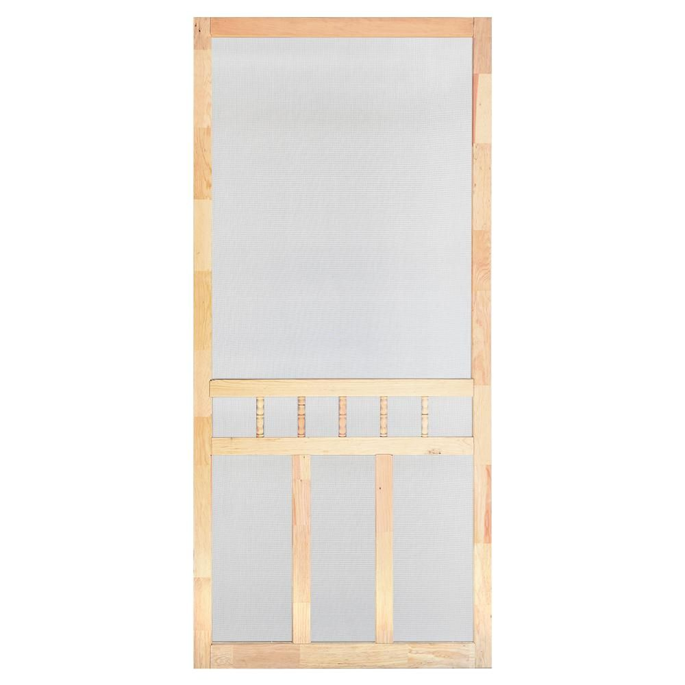 Screen Tight 36 In X 80 In Wood Classic Screen Door Wcla36