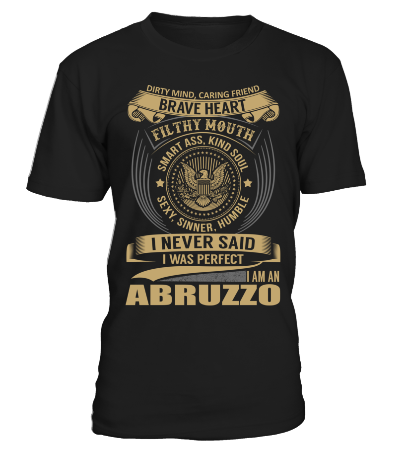 ABRUZZO - I Nerver Said