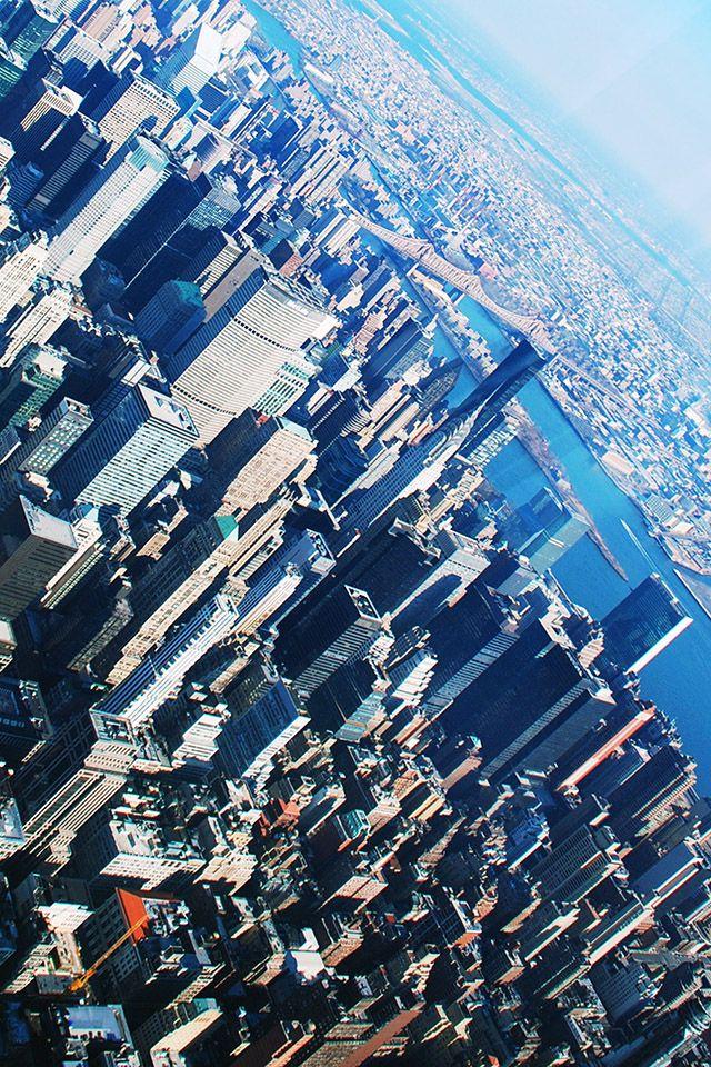 newyorkview parallax HD iPhone iPad wallpaper
