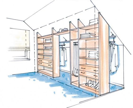 dressglider - Dachschräge diy for flat Pinterest - schrank für schlafzimmer