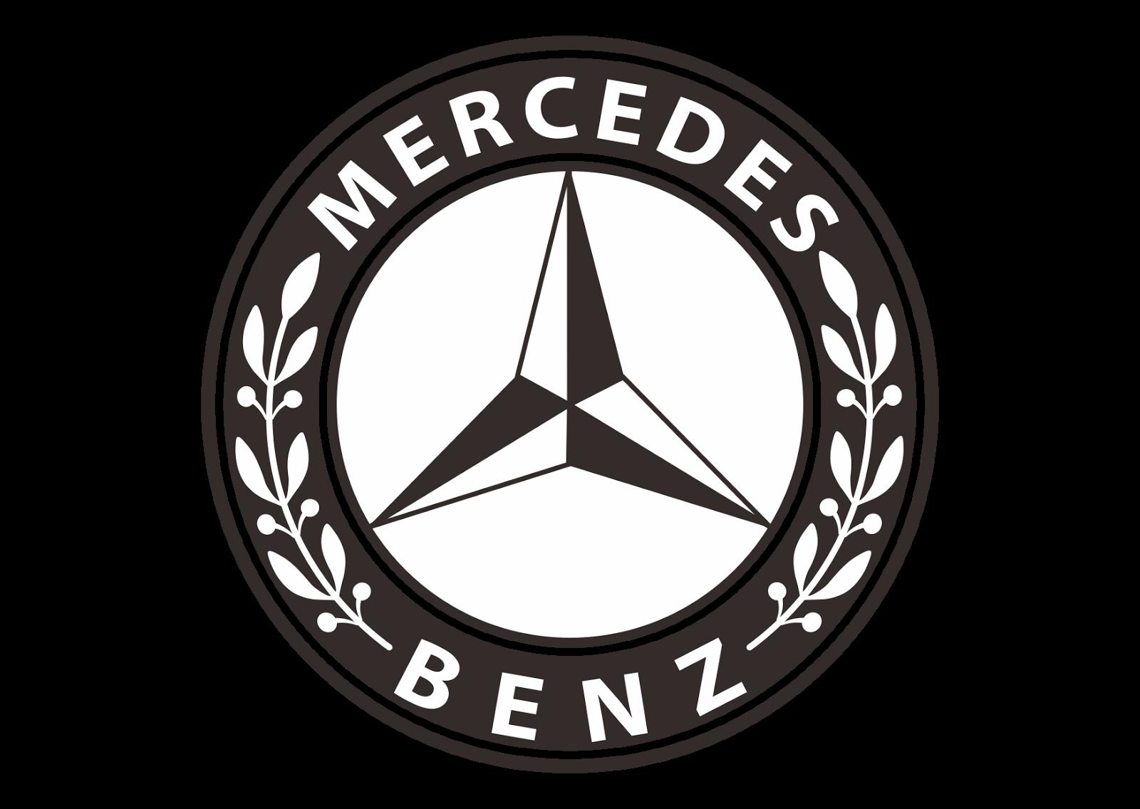 Mercedes Benz Logo Vector Design Part 2 Format Cdr Ai Eps Svg Pdf Png Konsep Mobil Mobil Burung Elang