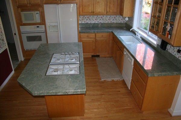 Amazing Costa Esmeralda Granite Countertop   Portland Granite Countertops   Portland  Kitchen U0026 Bathroom Countertops .