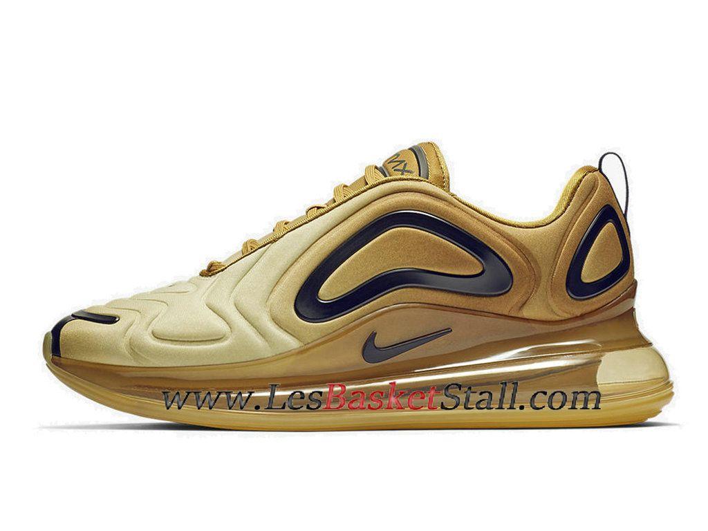Nike Air Max 720 Gold Chaussures Officiel Basket Pas Cher