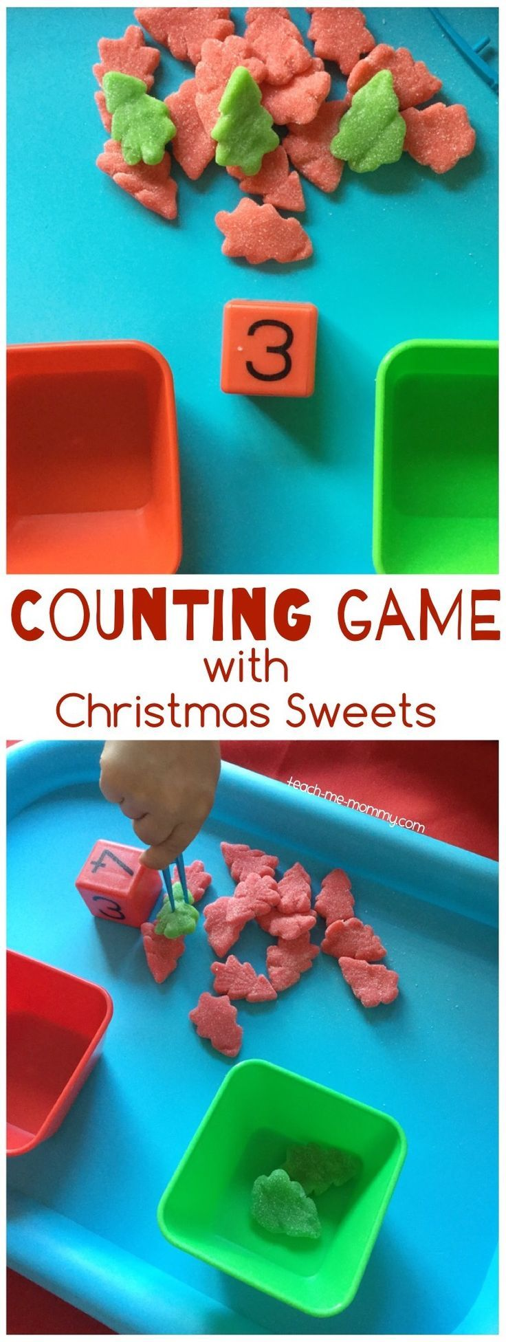 Counting Christmas Sweets Game