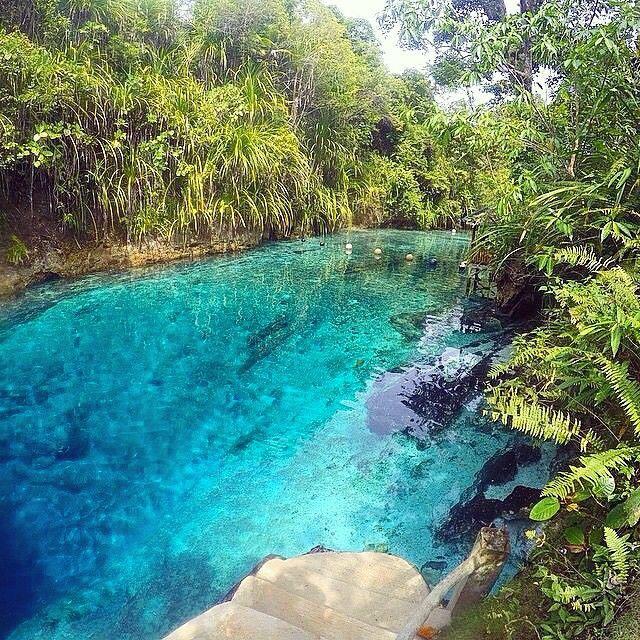 Hinatuan Enchanted River, Surigao del Sur (Phillipines)