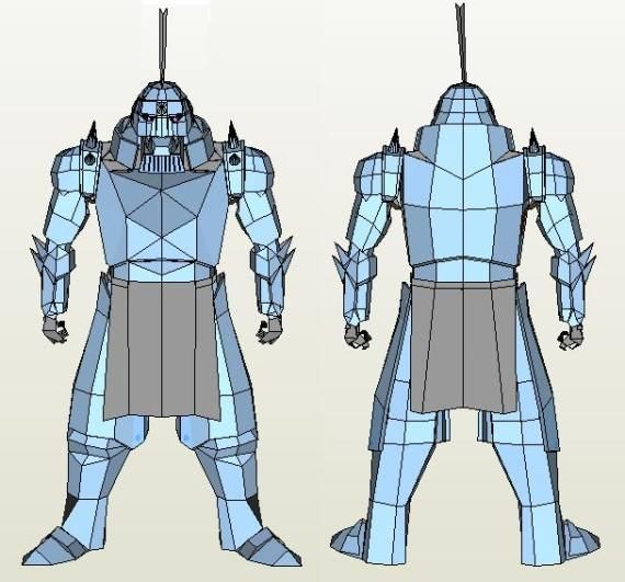 PAPERMAU: Full Metal Alchimist